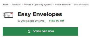 Easy Envelopes - Free Envelope printing software