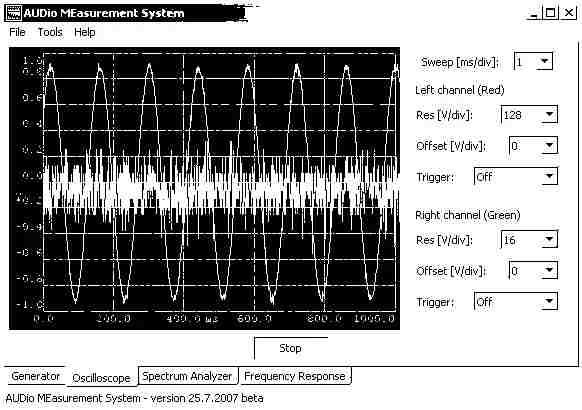 Audio Measurment System